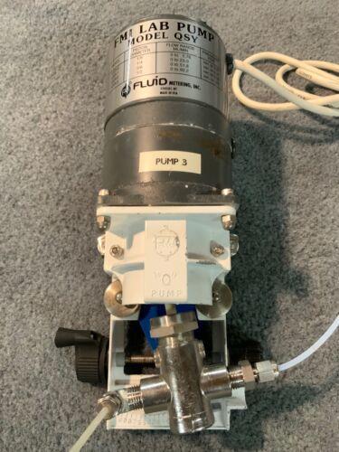 FMI lab pump model QSY fluid metering