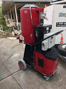 Concrete Grinding Dust Extractor Machine 3 phase Pullman