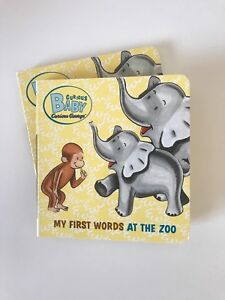 Toddler board books: My first words at the zoo
