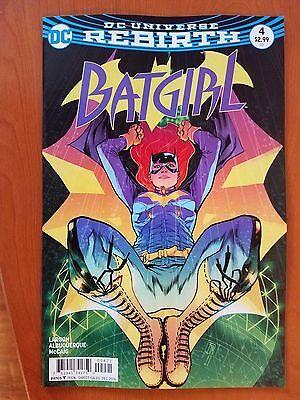 Batgirl # 4 DC Universe Rebirth (1st Print) Variant