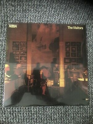 ABBA Lp SEALED The Visitors 1980 Original First Press