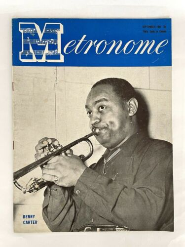 Metronome Magazine September 1944 Benny Carter