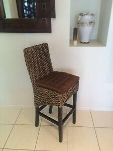 Wicker Bar Stools x4 $50 EA Burrum Heads Fraser Coast Preview
