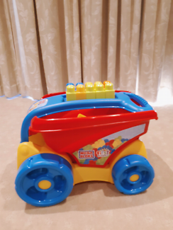 Baby toy- Mega block, toddler walker and Rolling ball toy