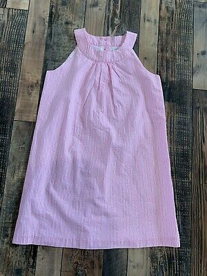 NWT GYMBOREE Girls Pink White Stripe Dressy Easter WEDDING DRESS Size 8 - Girls Easter Dresses Size 8