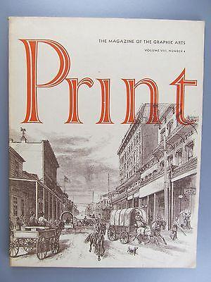 Print: The Magazine of the Graphic Arts, Vol. 8, No. 4, December, 1953