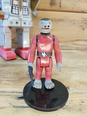 Vintage 1978 Star Wars SNAGGLETOOTH complete with blaster HONG KONG