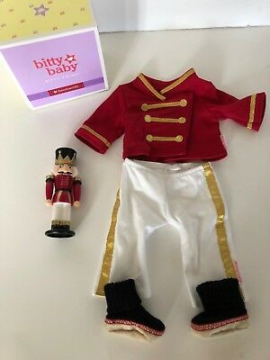 American Girl Doll Bitty Baby Toy Soldier Pajamas - NO BOOK  Christmas