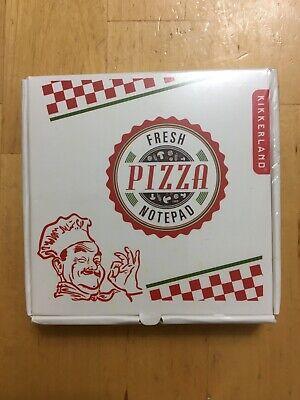 Kikkerland Pizza Notepad - New