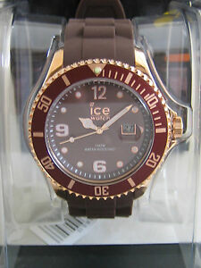 ICE-WATCH BIG ICE-STAR IS.BNR.B.S.13 ROSE GOLD BROWN GENUINE