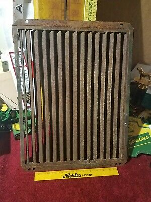 John Deere Tractor Radiator Shutter - Antique 2 Cyl Parts Restoration Model B