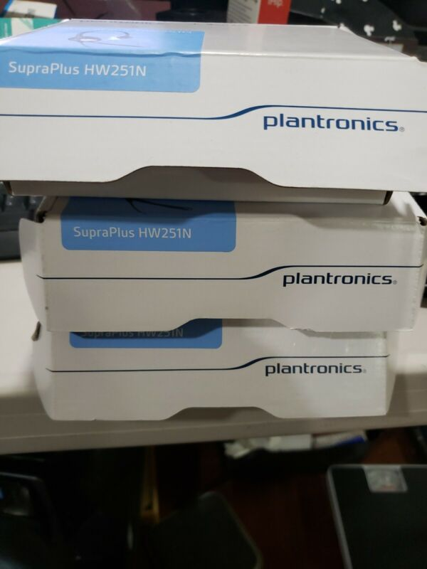 Brand new Plantronics SupraPlus HW251N, part number 64338-31
