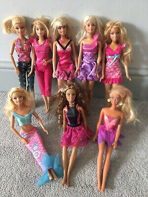 Beautiful Vintage Mattel Barbie Doll Bundle x8