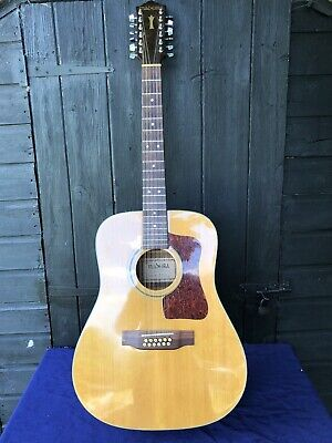 Vintage Madeira A -10:12 12 string Acoustic Guitar Distributed by Guild.