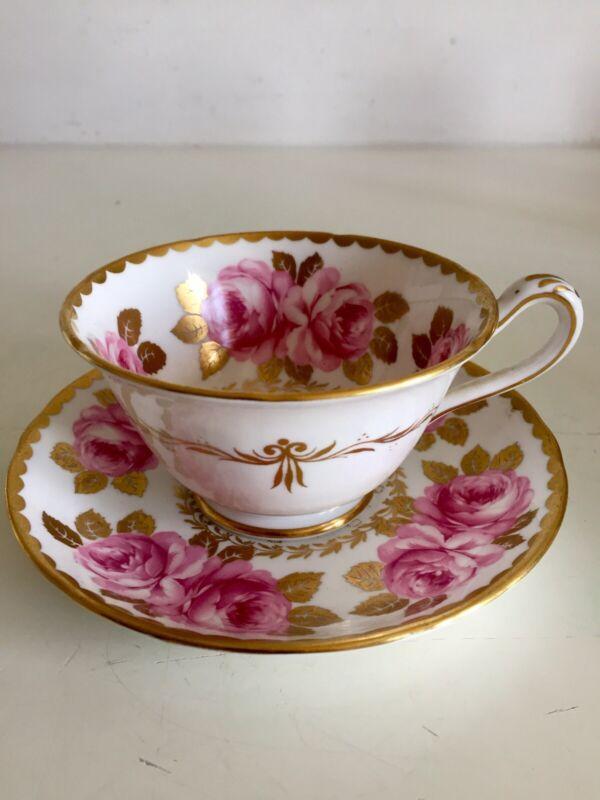 Vintage Grosvenor Jackson & Gosling Fine Bone China Tea Cup & Saucer