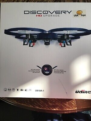 UDI U818A-1 Camera Drone for Kids - HD With Beginners 720p RC