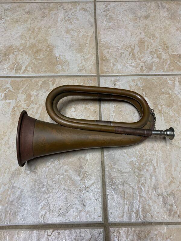 Vintage Metal Horn Bugle