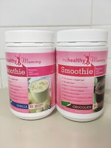2 x Healthy Mummy smoothie tubs