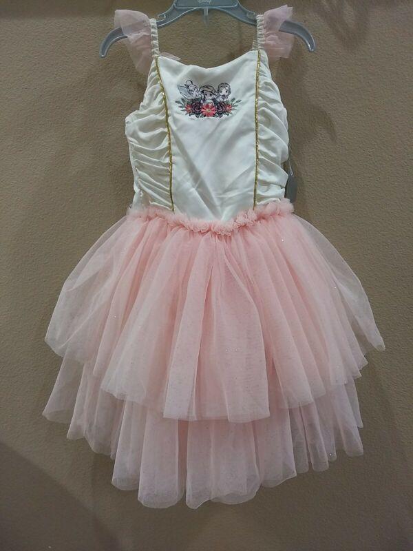 Disney princess Leotard Tutu Dress Ruffle Tuele Sparkly Size 5/6 Dance Costume