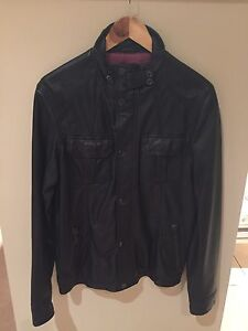 Men's small Ted Baker Leather jacket Meadowbank Ryde Area Preview