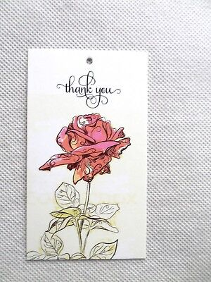 500 Price Tags Accessories Tags Cute Rose Clothing Tags Hang Tags-----no Loops-