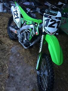 kawasaki kxf 450 2012 clean bike
