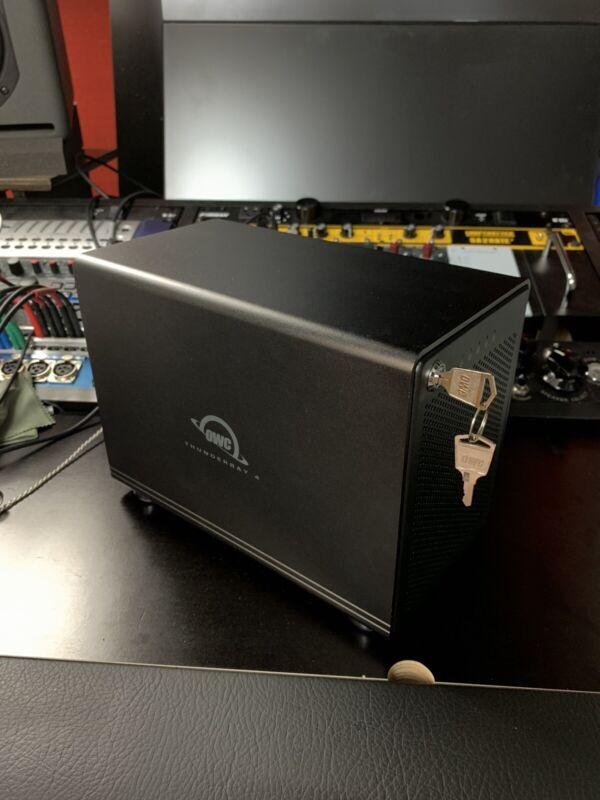 OWC Thunderbay 4 External HDD and SSD Enclosure Thunderbolt 2 (no drives)