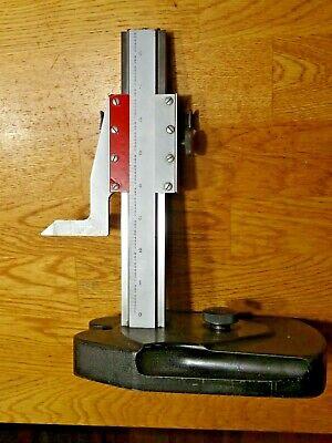 Starrett Model No. 254 Mini 8.5 Master Vernier Height Gage