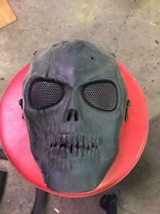 Skull air soft mask