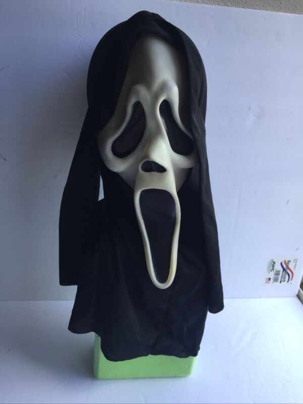 Vintage Scream Ghostface Mask Easter Unlimited Ghost Face Glows
