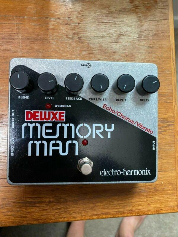 Electro-Harmonix Deluxe Memory Man w/Analogman 3005 chip mods