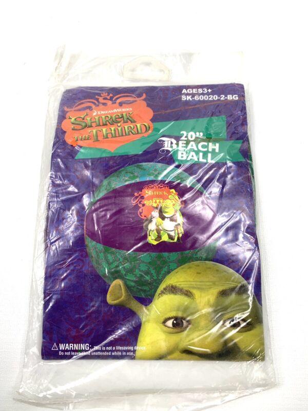 """Shrek The Third 20"""" Beach Ball 2007 Rare"""