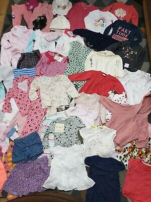 Huge Bundle Of Baby Girl Clothes 12-18months #145 GEORGE NEXT PRIMARK RIVER ZARA