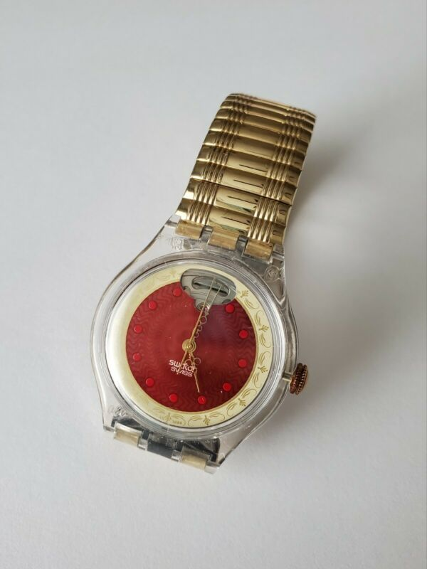 Swatch Womans Vintage Automatic Watch