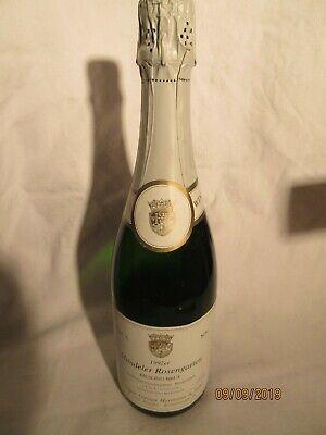 Kellerfund Deutscher Sekt Riesling BRUT 1992 Mandeler Rosengarten 0,75ltr. 13%