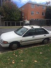 White ford laser for sale 1994 Caulfield North Glen Eira Area Preview