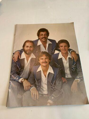 Vintage Statler Brothers Concert Souvenir Program