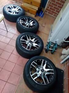 Toyota Hiace mag wheels rims like new Merrylands Parramatta Area Preview