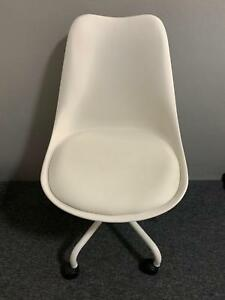 Kmart Montreal White Office Chair in very good condition & Kmart Montreal White Office Chair in very good condition | Office ...