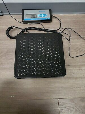 Brecknell Heavy Duty Digital Shipping Postal Scale For Packages 400 Lb Capacity
