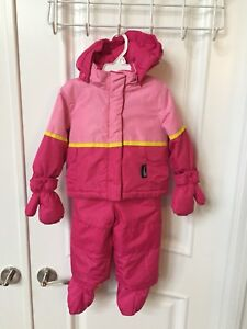 Snowsuits for girls - sizes NB to 18 months