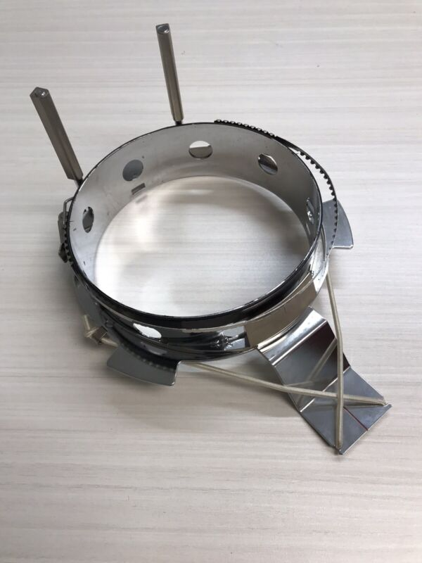 Used Stainless Steel Embroidery Cap Frame Hoop for Tajima Machine Double Band