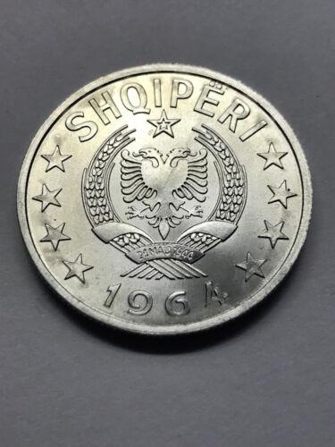 1964 Albania 1 Lek Gem BU Very Rare #11853