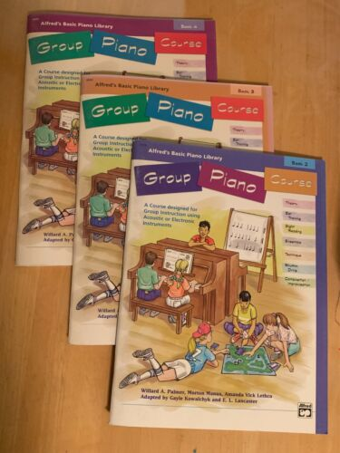 Group Piano Course, Books 2, 3, 4; Alfred