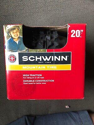 Schwinn Big Knobby Bike Tire (Black, 20 x 1.95-Inch) Mountain Tire,