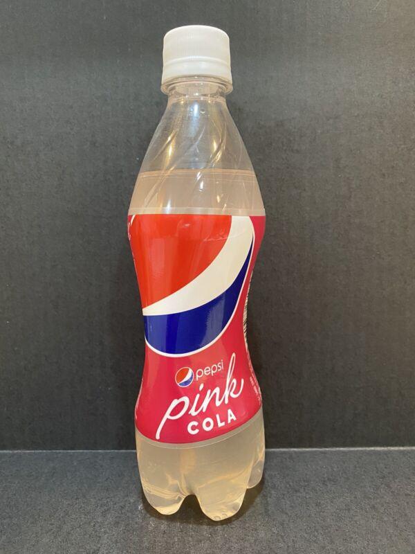 Pepsi Pink Cola Full (Japan) RARE