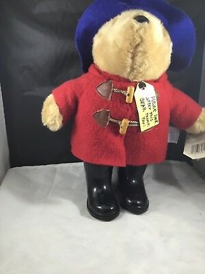 Vintage Paddington Bear With Rain Boots Eden