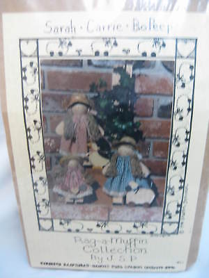 Country Keepsake - Wood Doll Kit - Bo Peep - New in Package - Rag A Muffin
