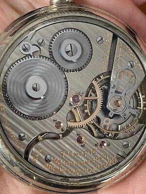 1925 HAMILTON 992 16S Railroad Pocket Watch Pristine Condition w/ Salesman Case