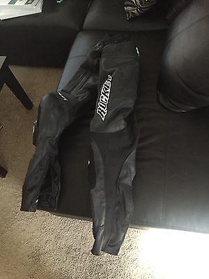 Joe Rocket 2 piece leather/zip together leather racing suit Joe Rocket Racing Leathers